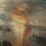 The Burning of the Houses of Lords and Commons, 16 October 1834, 1835 Joseph Mallord William Turner (British, 1775-1851)